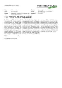thumbnail of Dr Michael Brinkmeier Vorstand Schlaganfallstiftung Besuch In Der Aatalklinik 10 2014