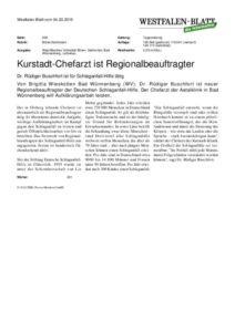 thumbnail of Regionalbeauftragter Schlaganfallhilfe Westfalenblatt 3 2015