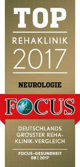 FOCUS-Siegel-Aatalklinik 2017
