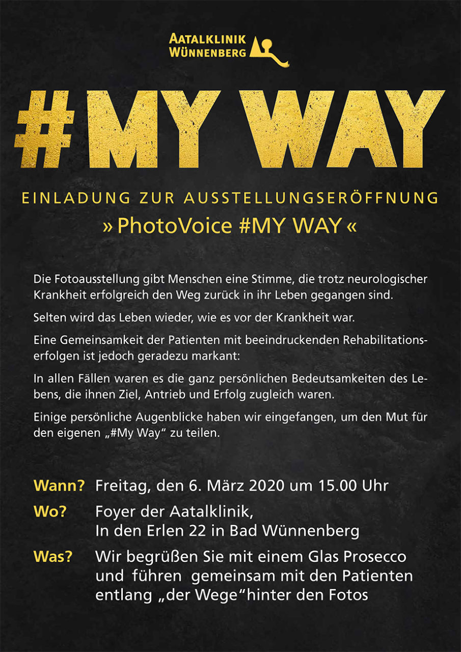 MyWay PhotoVoice 2020 - Einladung
