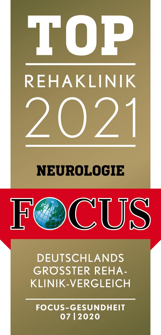 Top Rehaklinik 2021 Neurologie